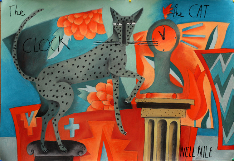 Cat and the Clock by Nell Nile.
