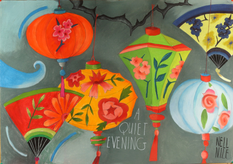 Quiet evening by Nell Nile
