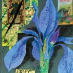 Blue Iris by Nell Nile