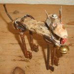 Dog Sculpture by Nell Nile