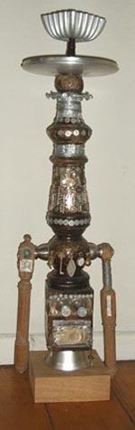 Nell Nile Robot Sculpture